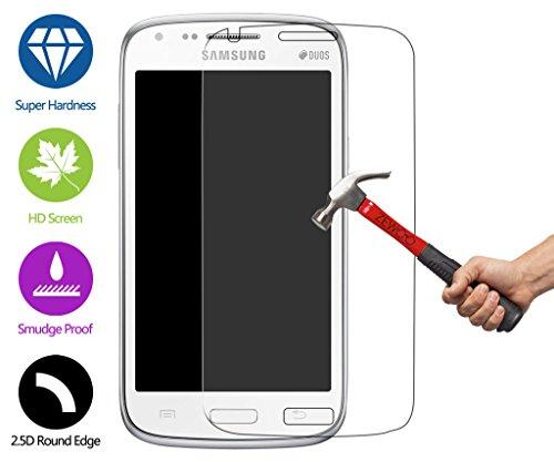 ZeWoo Display Glas Panzerfolie für Samsung Galaxy Core i8260 / Core Duos i8262 Glasfolie Hartglas Schutzfolie 9H *2.5D, nur 0,33mm dünn -