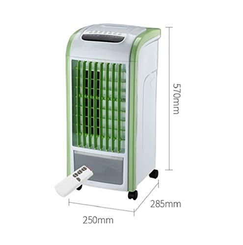 Home 4 in 1 LuftküHler Luftbefeuchter Mobiles KlimageräT Mit Entfeuchtung Mobile Klimaanlage Klima Ventilator Luftreiniger Anlage Air Cooler(Grün,Schwarz, 1X air Conditioner Cooler) TWBB - 1 X Conditioner