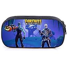 remycoo Fortnite – Neceser, nuevo Fortnite Battle Royale gran capacidad bolsa de lápiz caja de