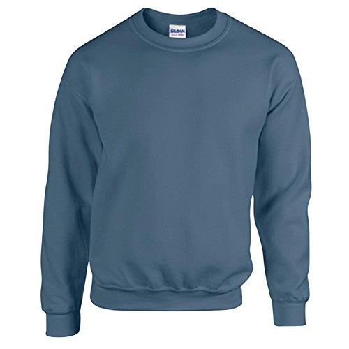 Heavy Blend Crewneck Sweatshirt - Farbe: Indigo Blue - Größe: M - Heavy Blend Crewneck Sweatshirt