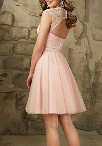 Bridal_Mall - Robe de mariage - Trapèze - Sans Manche - Femme Lightpink