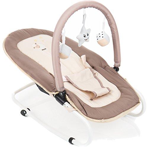 Babywippe / Babytrage / Babyschaukel + Spielbogen (Schaf)