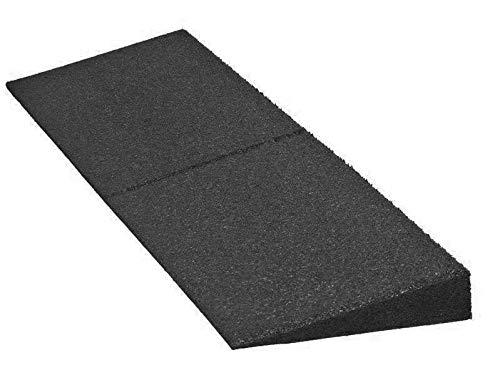 Bordsteinrampe aus Gummi   1000 x 250 x 30 bis 110 mm   Türschwellenrampe   Schwellenrampe, Bordsteinrampe für Auto, Garage (1000 x 250 x 30 mm)