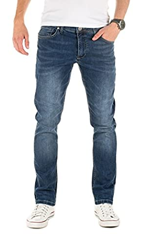 Yazubi Homme Jeans Zed slim fit, Bleu (Insignia Blue 194028), W29/L34