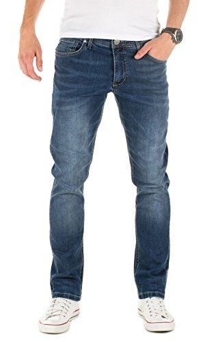 Yazubi Herren Jeans Zed slim, Blau (Blau Insignia...