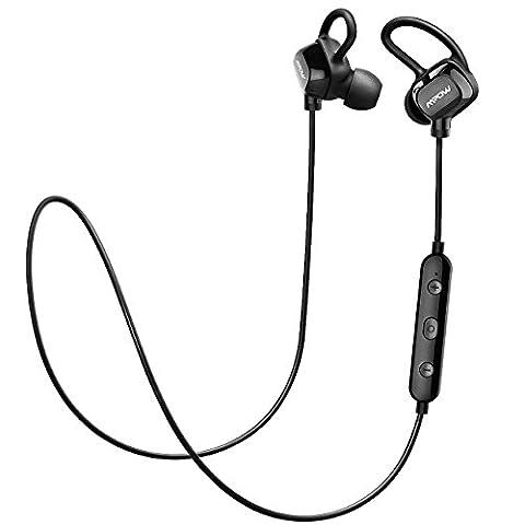 Bluetooth Kopfhörer 4.1 Mpow Wireless Kopfhörer In Ear Ohrhörer Stereo CVC 6.0 Noise Cancelling mit Mikrofon Wireless Sport Headset für iPhone 7 / Plus 6S 6 Plus 5S 5 Samsung alaxy Huawei