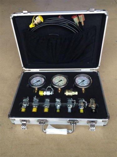 Excavator Hydraulic Pressure Test Kit XZTK-60M, Hydraulic Tester/Test Coupling Y by MX