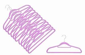 12 x Raumspar- und Anti-Rutsch Magic Kleiderbügel Smart in LAVENDEL