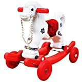 BlackFumes 2 in 1 Baby Horse Rider for Kids 1-5 Years Birthday Gift for Kids/Boys/Girls (Color May Very)
