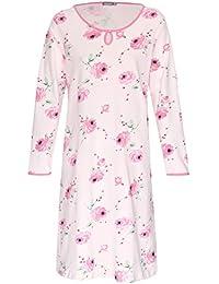 XL,XXL,3XL in Lila M,L Damen Schlafanzug Kurzarm 3//4 Hose 100/% Baumwolle...Gr
