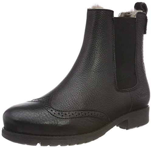 Bisgaard Mädchen 51003218 Chelsea Boots, Schwarz (204 Black), 35 EU