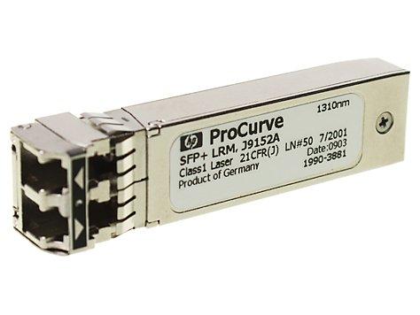 HP Enterprise X132 10G SFP+ LC LRM Faseroptik 1310nm 10000Mbit/s SFP+ Netzwerk-Transceiver-Modul, J9152A-C (Points Access 1310)
