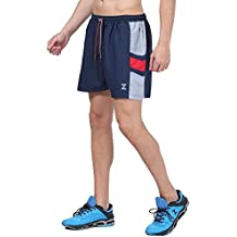Azani Flex Panelled Shorts - Performance Shorts for Running, Training and Gym. Lightweight, Moisture Wicking and Quick Drying