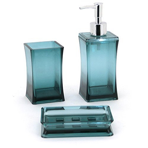 Bathroom soap dispenser set for Bathroom soap dispenser set