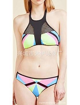 Moderno y cómodo bikini _ elegante traje de baño moderno y cómodo bikini, XL split, imágenes ,4XL