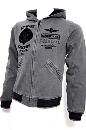 Aeronautica Militare - Sudadera - para Hombre 34308 Grigio M