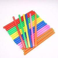Ogquaton Variedad de paletas Smoothie Jumbo Bright Colors, Paquete de 100 Piezas