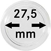 5 Münzkapseln 27,5mm für 5 Euro Münze Planet Erde, blauer Planet