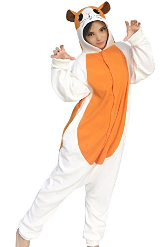 dressfan Tier Cosplay Kostüm Hamster Pyjamas Erwachsene Mädchen