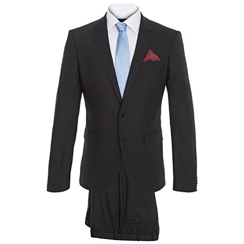 Michaelax-Fashion-Trade - Costume - Uni - Manches Longues - Homme Dunkelblau (61)