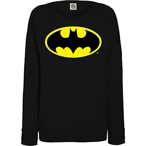 DC Comics mujer Batman Logo Camisa de entrenamiento