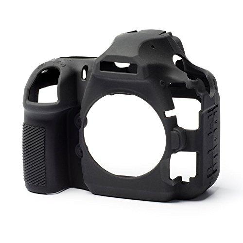 3d303e303b28 easycover Silicone Camera Armor Skin for Nikon D850 DSLR. Black Case.