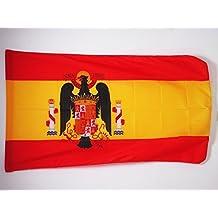 BANDERA de ESPAÑA DE FRANCO 1945-1977 150x90cm para palo - BANDERA FRANQUISTA ESPAÑOLA 90 x 150 cm - AZ FLAG