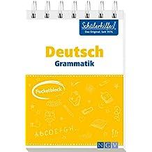 Pocketblock Deutsch Grammatik: Gute Noten mit der Schülerhilfe