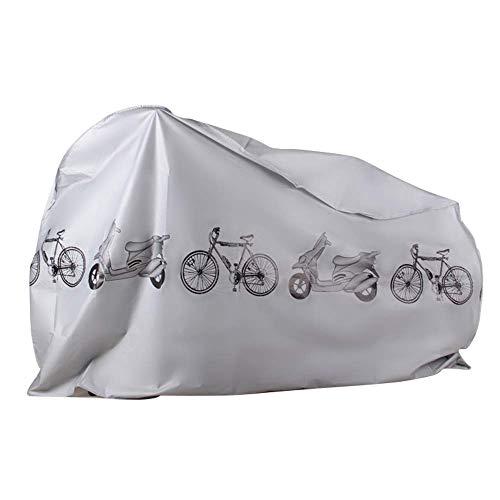 SUNDUXY Fahrradabdeckung Wasserdichtes Atmungsaktives Polyester-Gewebe Fahrradgarage, Universal Fahrrad Schutzhülle