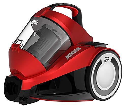 Dirt Devil DD2424-1-REBEL 34 PARQUET Aspiradora Sin Bolsa 4A, 700 W, 79 Decibeles, Rojo Metalizado