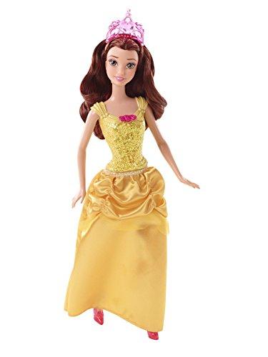 Mattel Disney Princess CFB75 - Märchenglanz Prinzessin Belle Puppe