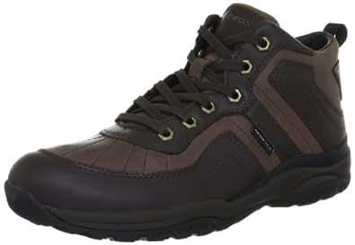 Geox Uomo Alpi Wpf U24A0F0CL43C6215, Herren Boots, Braun (brown/dk brown C6215), EU 42