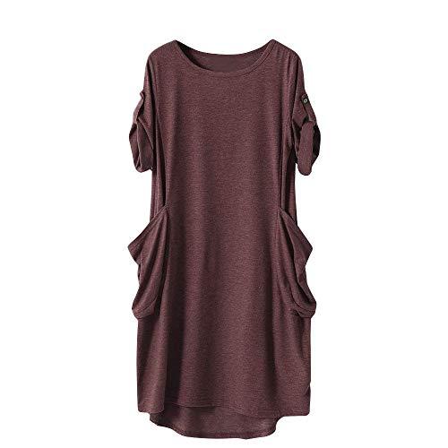 IZHH Frauen/Damen Halloween Shirts Tops Sweater Blusen Mädchen Kostüm Streetwear Partei Verein Oktoberfest Geschenk Herbst Winter 2018, Solide Beiläufig Lang Pullover