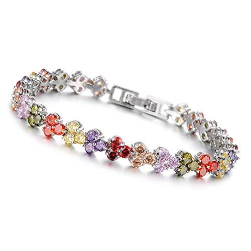 womens-copper-platinum-plated-inlaid-cz-triangle-tennis-fashion-bracelet-76