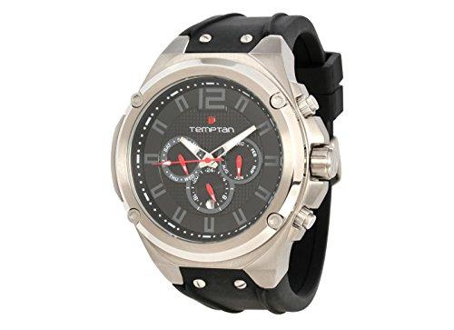 Exclusive Temptan Titan Automatikuhr TI05-0047TK-s-grau Herrenuhr Armbanduhr