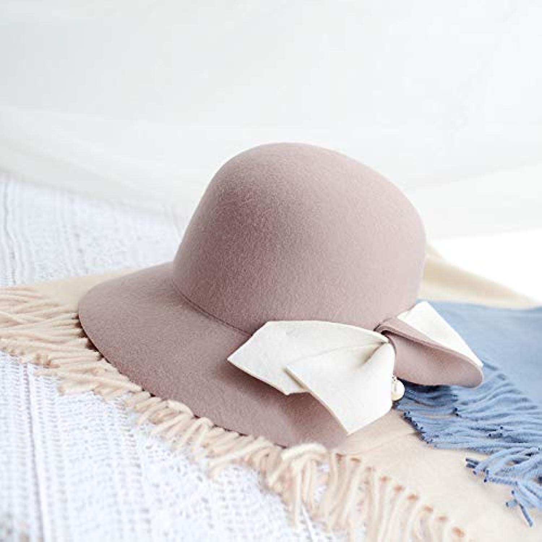 LybHat Cappello Donna Autunno e Inverno Cappello Nuovo Cappello Inverno  Pescatore Cappello retr ograve  Elegante Tappo Bacino 5e36006d90d2