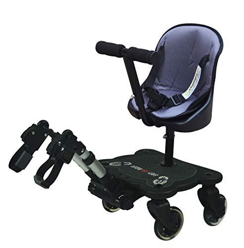 Easy X Rider - Patin para silla de paseo con 4 ruedas
