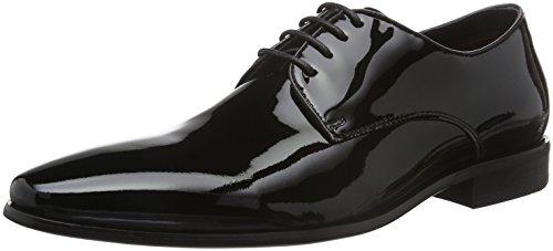 Belmondo 752324 01, Chaussures à Lacets Homme Noir - Noir