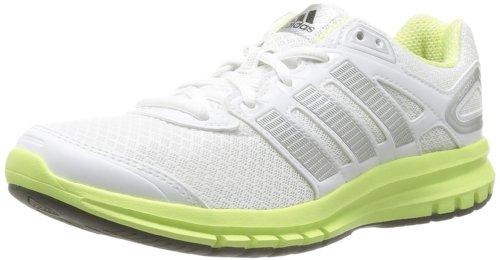 adidas Duramo 6 D66481 Damen Laufschuhe, Weiß (Running White Ftw / Metallic Silver / Glow S14), EU 36 2/3 (UK 4)