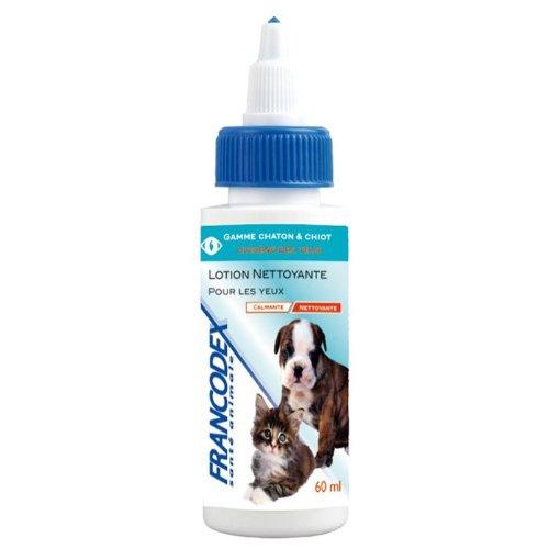 Francodex - Limpiador de ojos para perro/gato