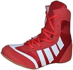 Port Unisex Boxor Red Mesh Boxing Shoes