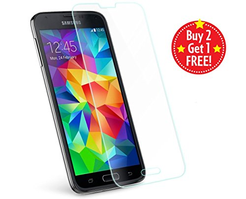 Premium Quality Tempered Temper Glass Screen Protector For Samsung Galaxy S5