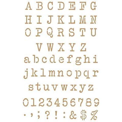 Stencil Deco Abecedario 027. Medidas aproximadas: Medida exterior del stencil: 20 x 30 cm Medida del diseño: 1,5 x 1,8 cm Medida de la M mayúscula: 1,5 x 1,8 cm Medida de la m mínuscula: 1,4 x 1,3