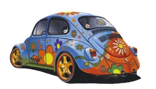 Preisvergleich Produktbild Wandteppich Wand Teppich das Kult Auto aus den 70er Jahren , 60er Jahren Friedensbewegung und die sexuelle Revolution