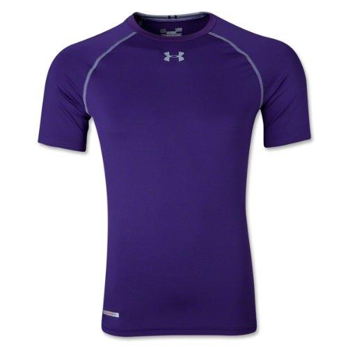 Under Armour Herren Kompressionsshirt HeatGear Sonic Purple/Steel