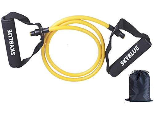 SKYBLUE Heavy Pull Rope Exercise Cords for Fitness Pilates Strength Training with Bag Resistance Tube (Multicolor)