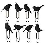 Unbekannt Klammern für Postkarten oder Fotos BIRDCLIPS schwarz