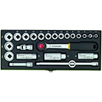 Proxxon 23110 Steckschlüsselsatz 3/8 Zoll, 24-teilig