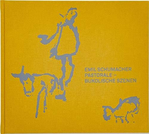 Emil Schumacher / Pastorale-Bukolische Szenen Pastorale Szene