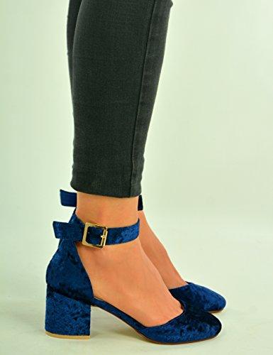 Qxfe0dzhw Sandales Compensées Fashion Cucu Bleu Femme dorxeCB